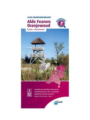 ANWB Wandelkaart Alde Faenen - Oranjewoud