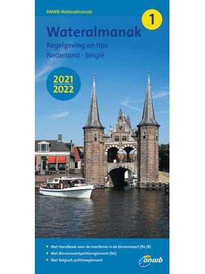 ANWB Wateralmanak deel 1 - 2021-2022
