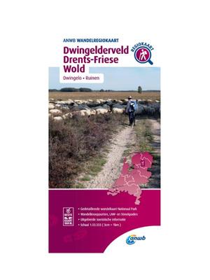 ANWB Wandelkaart Dwingelderveld - Drents Friese Wold