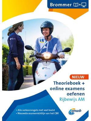 Theorieboek en online examens Rijbewijs AM
