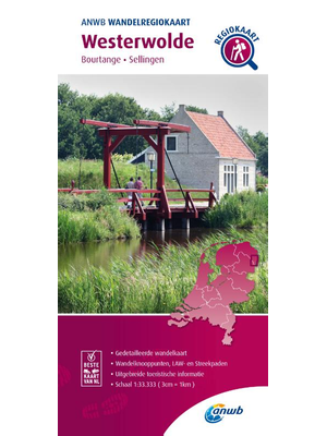 ANWB Wandelkaart Westerwolde