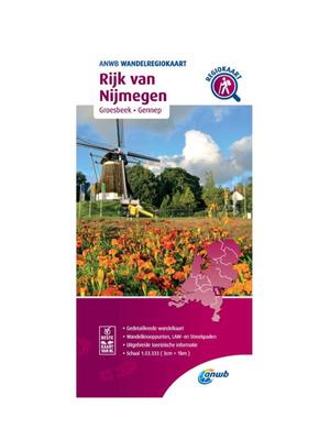 ANWB Wandelkaart Rijk van Nijmegen
