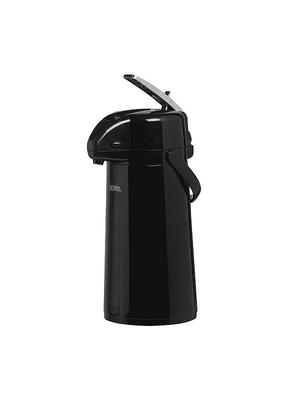 Thermos - Pompschenkkan - Pompes - 1,3 Liter - Zwart