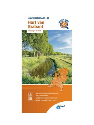 ANWB Fietskaart 35 -  Hart van Brabant