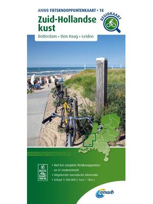 ANWB Knooppuntenkaart 18 Zuid-Hollandse Kust