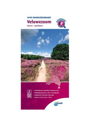 ANWB Wandelkaart Veluwezoom