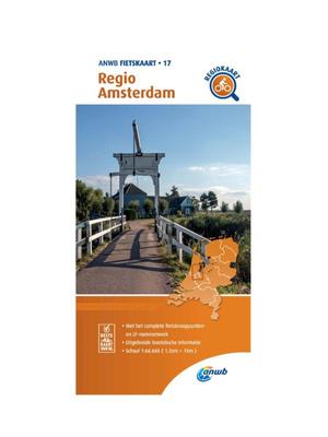 ANWB Fietskaart 17 - Regio Amsterdam