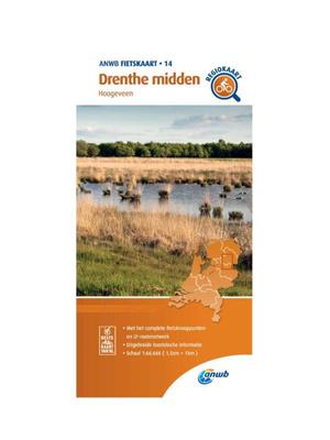 ANWB Fietskaart 14 - Drenthe Midden