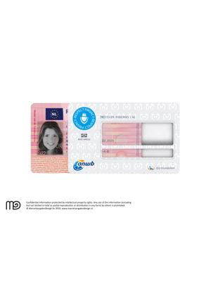 RFID cover rijbewijs