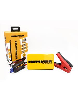 Hummer H3 Mini Jumpstarter/Lader 6.000mAH + LED Lamp