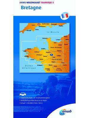 ANWB Wegenkaart Bretagne