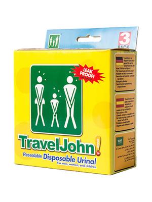 TravelJohn – Wegwerp plaszak
