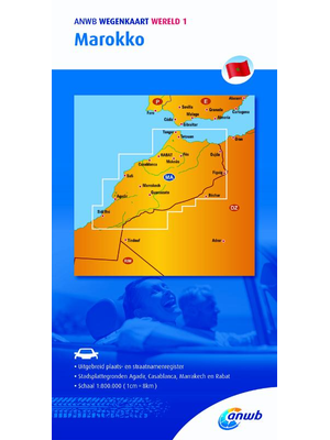 ANWB Wegenkaart Marokko