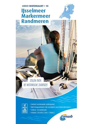 ANWB Waterkaart 18- IJsselmeer-Markermeer