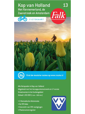 Falk fietskaart 13 Kop van Holland