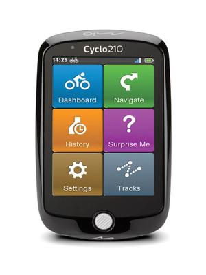 Mio Cyclo 210 – Fietsnavigatie