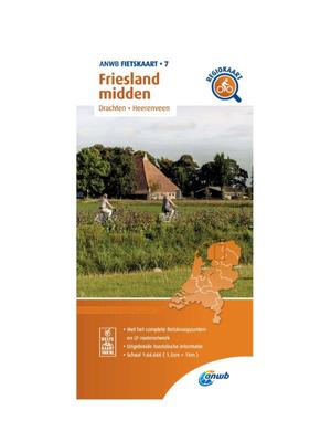 ANWB Fietskaart 7 - Friesland Midden