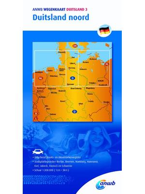 ANWB Wegenkaart Duitsland Noord