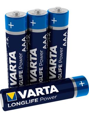 Varta Longlife Power AAA LR03 – 4 stuks