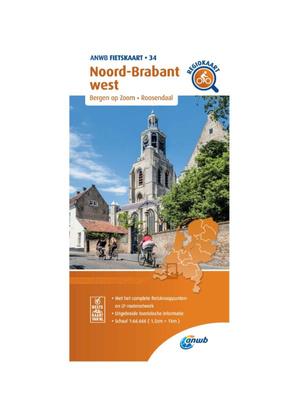 ANWB Fietskaart 34 - Noord-Brabant West
