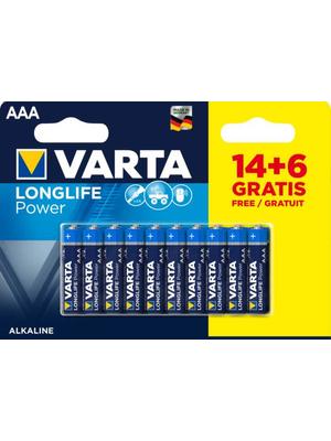 Varta Longlife Power AAA LR03 - 20 stuks