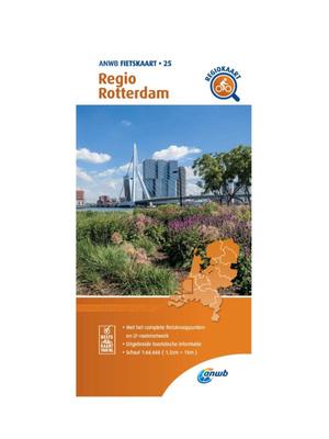 ANWB Fietskaart 25 - Regio Rotterdam