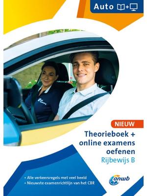 Theorieboek en online examens Rijbewijs B