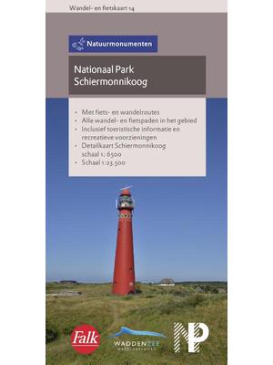 Natuurmonumenten wandel- en fietskaart 14 Schiermonnikoog - Falk