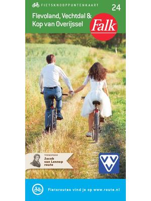 Falk fietskaart Flevoland, Vechtdal en Kop van Overijssel
