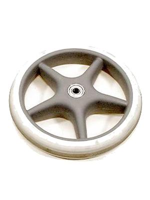 Rollator Voorwiel 25 cm grijs