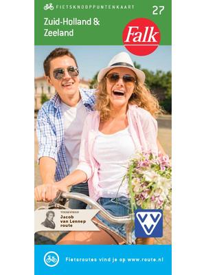 Falk fietskaart Zuid-Holland en Zeeland