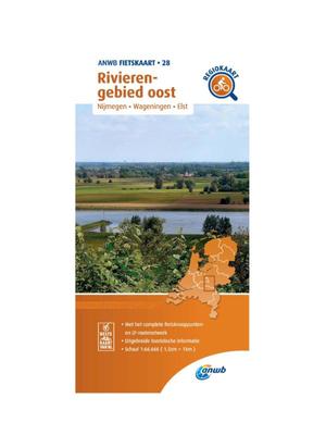 ANWB Fietskaart 28 - Rivierengebied Oost