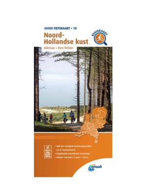 ANWB Fietskaart 10- Noord-Holland Kust