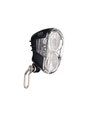AXA LED Lamp Voorlicht Echo 30 Lux On/Off (Naaf)Dynamo