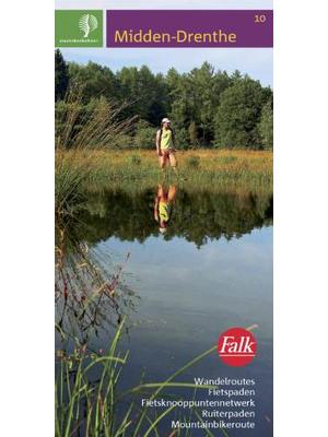 Falk fiets-wandelkaart SBB 10 Midden-Drenthe