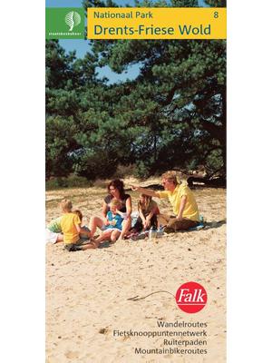 Falk Wandelkaart SBB 08 Drents Fries Wold
