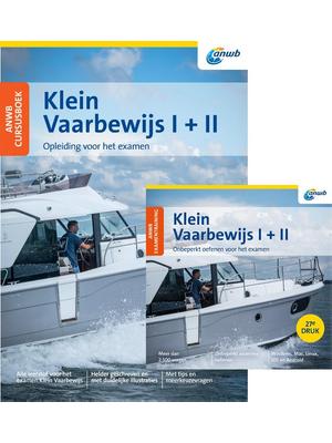 ANWB Cursusboek Klein Vaarbewijs I+II met examentraining
