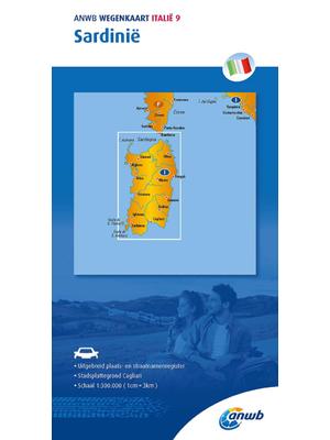 ANWB Wegenkaart Sardinië
