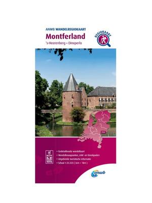 ANWB Wandelkaart Montferland