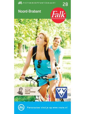Falk fietskaart Noord-Brabant