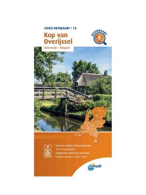 ANWB Fietskaart 13 - Kop van Overijssel