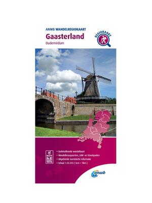 ANWB Wandelkaart Gaasterland