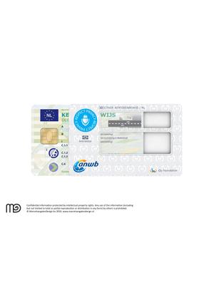 RFID cover Kentekenbewijs