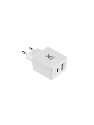 Xtorm AC Adapter USB + USB-C CX18