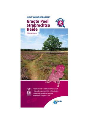 ANWB Wandelkaart Groote Peel en Strabrechtse Heide